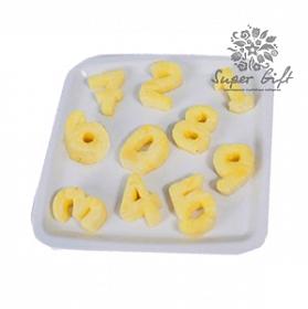 картинка Цифры из ананаса от магазина Supergift