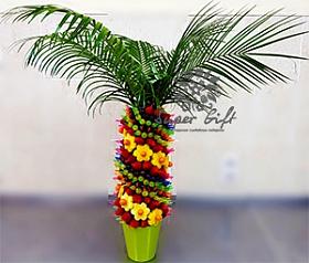 оригинальная композиция Фруктовая пальма