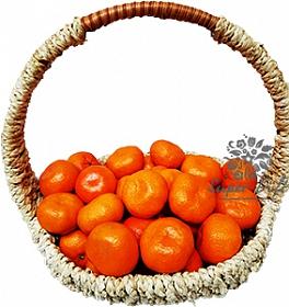 Фруктовая корзина Счастливая мандаринка