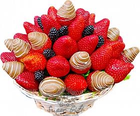 фруктовый букет Озорная ягодка