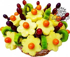фруктовый букет Колокольчики